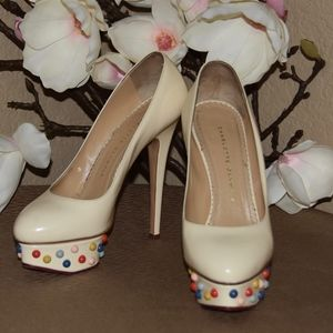 Charlotte Olympia's whimsical Dolly pumps